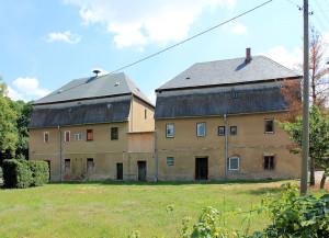 Rittergut Höfchen, Herrenhaus, Hofseite