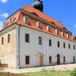 Rittergut Hof, Neues Schloss, Ostseite