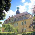Rittergut Hof, Neues Schloss, Parkseite