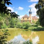 Rittergut Hof, Neues Schloss und Wassergraben