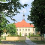Rittergut Hohenprießnitz, Schloss und Garten