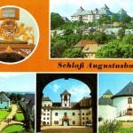 Jagdschloss Augustusburg, Postkarte 1980er Jahre