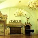 Jagdschloss Augustusburg, Hasensaal, Postkarte 1980er Jahre