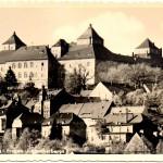 Jagdschloss Augustusburg, Postkarte 1950er Jahre