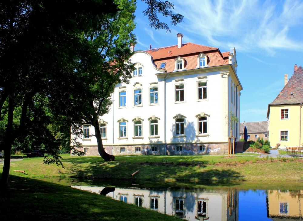 Kahnsdorf, Rittergut, Neues Herrenhaus