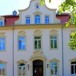 Rittergut Kahnsdorf, Neues Herrenhaus, Mittelrisalit