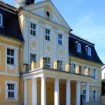 Rittergut KItzen, Herrenhaus, Parkseite
