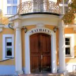 Rittergut KItzen, Herrenhaus, Portal