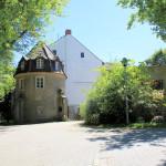 Rittergut Kobershain, Zufahrt (Zustand Juli 2015)