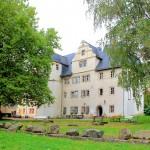 Schloss Kromsdorf, Parkansicht