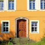 Herrenhaus Kühnitzsch, Portal