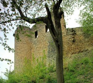 Kunitz, Burg Gleißberg (Kunitzburg)