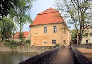 Rittergut Lampertswalde, Brücke und Pächterhaus