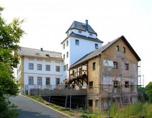 Oberlangenau, Rittergut