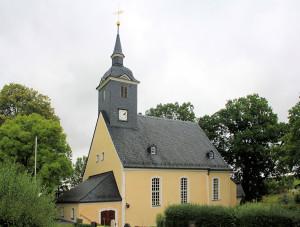 Langenstriegis, Ev. Pfarrkirche