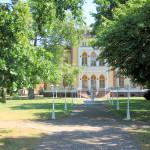 Rittergut Last, Herrenhaus Parkseite