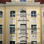 Altes Kloster Leipzig (Becksches Haus), Mittelrisalit