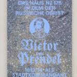Zentrum, Gedenktafel Victor von Prendel