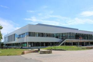 Mensa und Cafeteria am Elsterbecken der Handelshochschule Leipzig