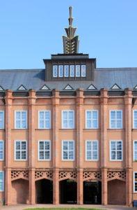 Neues Grassimuseum Leipzig, Fassade Querbau