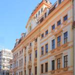Romanushaus Leipzig, Fassade Brühl