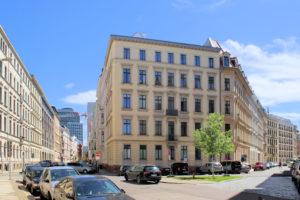 Die Kreuzung Humboldtstraße/Lortzingstraße - Standort einer ersten slawischen Befestigung