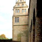 Leitzkau, Schloss Althaus, Giebel an der Klosterkirche