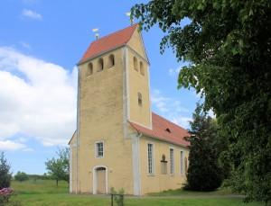 Liptitz, Ev. Pfarrkirche Mannewitz