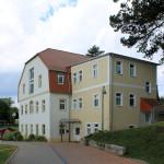 Rittergut Lüttewitz, Herrenhaus, Rückansicht
