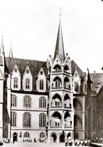 Schloss Albrechtsburg, Postkarte um 1980