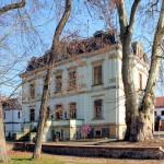 Stadtgut Leipzig-Mölkau, Herrenhaus, Parkseite