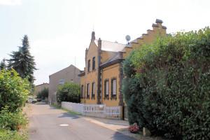 Mörtitz, Rittergut Mensdorf, Pächter- oder Verwalterhaus