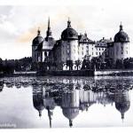 Jagdschloss Moritzburg, Postkarte vor 1945, Brück & Sohn Meißen