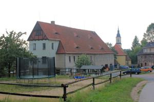 Naundorf, Albertsches Rittergut