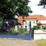 Rittergut Nenkersdorf, Herrenhaus Parkseite