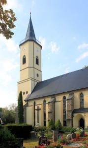 Niederbobritzsch, Ev. Pfarrkirche