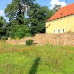 Rittergut Obernitzschka, Grundmauern des Herrenhauses