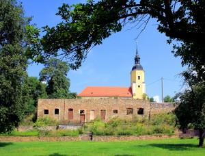 Rittergut Obernitzschka, Untergeschoss des Herrenhauses