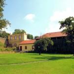 Rittergut Obernitzschka, Park und Wirtschaftsgebäude