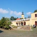 Rittergut Obernitzschka, Untergeschoss der Schmiede