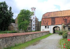 Rittergut Noschkowitz, Schloss und Torhaus