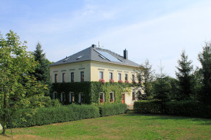 Rittergut Obergruna, Herrenhaus