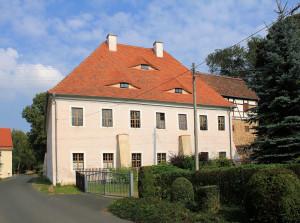 Rittergut Oberschaar, Herrenhaus