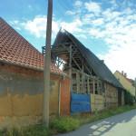 Rittergut Oberthau, Scheune