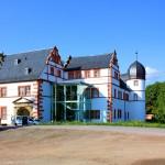Ohrdruf, Schloss Ehrenstein, Ansicht von Nordosten