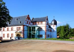 Ohrdruf, Schloss Ehrenstein, Ansicht von Nordostenden