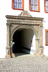 Ohrdruf, Schloss Ehrenstein, Portal