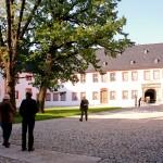 Ohrdruf, Schloss Ehrenstein, Schlosshof