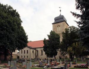 Ostrau, Ev. Kirche St. Georg (Schlosskirche)