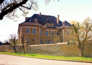 Rittergut Pehritzsch, Herrenhaus Parkseite